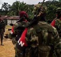ELN reivindica atentado en Colombia y dice que es parte de la guerra. Foto: AFP