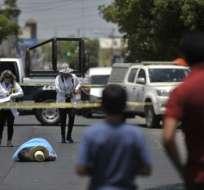 La cifra más alta de asesinatos la tuvo el estado de Colima, en el Pacífico mexicano. Foto: AFP