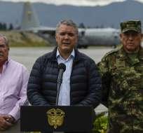 BOGOTÁ, Colombia.- Duque puso fin el viernes 18 de enero de 2019 a los diálogos con el ELN. Foto: AFP.