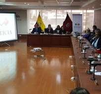 ECUADOR.- Puntos entregados a jueces fuera de la norma es una de las irregularidades detectadas en informe. Foto: API