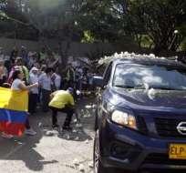Colombia despidió a las víctimas del atentado el fin de semana.