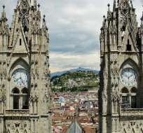 QUITO, Ecuador.- La mayoría de los atracos se reportan en la Basílica del Voto Nacional. Foto: Tomado de Guias Viajar.