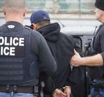 Desde el 1 de octubre han sido detenidos casi 10.000 migrantes. Foto: AP (referencial)