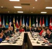 INTERNACIONAL.- La agrupación discutirá los pasos a tomar en apoyo al líder opositor Juan Guaidó. Foto: Archivo