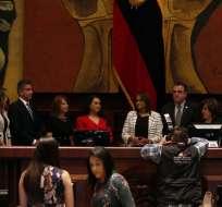 QUITO, Ecuador.- La nueva titular del organismo negó vínculos con el correísmo y garantizó independencia. Foto: API