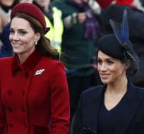 Los comentarios sobre Meghan y Kate son demasiado agresivos en redes. Foto: AP