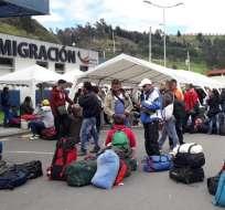 Desde el sábado 26 de enero, se solicita en Ecuador el pasado judicial apostillado de estos migrantes.