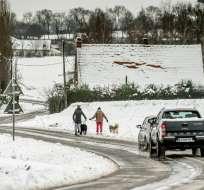 Ola polar amenaza el norte de EEUU y provoca cierre de escuelas y negocios. Foto: AFP