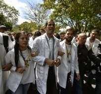 El régimen de Maduro solicitó a las Fuerzas Armadas mantenerse leales. Foto: AFP