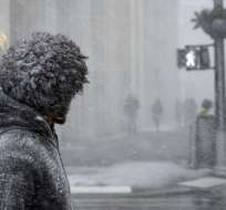 Una ola de frío extremo congela parte de EEUU, ¿es por el cambio climático?. Foto: AFP
