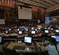 QUITO, Ecuador.- La Asamblea expresó su respaldo a Venezuela para buscar una transición pacífica frente a la grave crisis.
