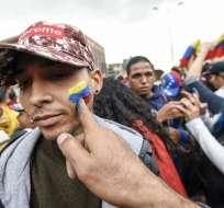 BOGOTÁ, Colombia.- La capital del país cafetero es el destino predilecto de los migrantes venezolanos. Foto: AFP