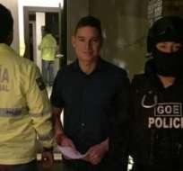 GUAYAQUIL, Ecuador.- El exministro acudió al desarrollo del segundo día de su audiencia de juzgamiento. Foto: Archivo