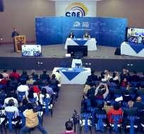 QUITO, Ecuador.- Funcionarios del CNE explicaron además cómo será el mecanismo para la propaganda de los candidatos al CPCCS.