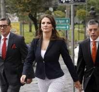 QUITO, Ecuador.- El caso de la asambleísta Ana Galarza sería revisado este martes por el pleno legislativo. Foto: API