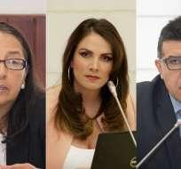 QUITO, Ecuador.- La presidenta de la Asamblea dijo que antes de su separación, se inició una investigación. Foto: Vistazo