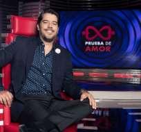 GUAYAQUIL, Ecuador.- El perfil de Pellacini aporta la perspectiva masculina al panel de jueces de Prueba de Amor. Foto: Ecuavisa