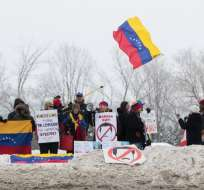 Canadá ofreció 40 millones para ayudar a Venezuela. Foto: AFP