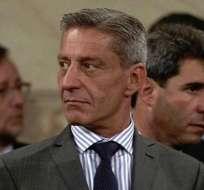 Federico Massoni,ministro de Gobierno de Chubut que impulsa polémica medida. Foto: LA VOZ.ar.