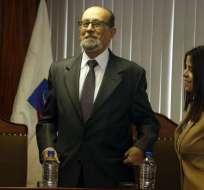 El presidente de la CC relacionó a la anterior Corte con el Gobierno de Correa. Foto: API