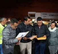 ECUADOR.- En operativo Centinela, se realizaron 12 allanamientos en cuatro provincias del país. Foto: Fiscalía