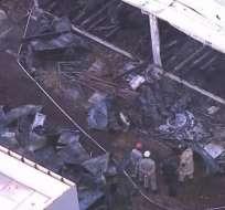 BRASIL.- Las instalaciones afectadas funcionaban como alojamiento de jóvenes atletas. Foto: Twitter