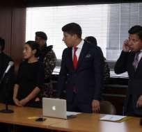 Exagentes que participaron en secuestro de político esperan que condena no supere el año. Foto: API
