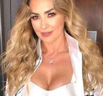 La actriz mexicana se refirió brevemente a su historia de amor con el astro de la música. Foto: Archivo Instagram