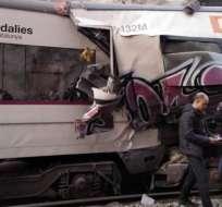 Las autoridades no han especificado las causas de este accidente. Foto: twitter