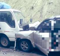 Un muerto y dos heridos deja accidente en la vía Loja – Catamayo.
