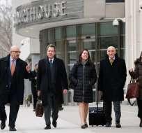Tras 3 meses de gigantesco juicio, transcurre una semana de deliberaciones. Foto: AFP