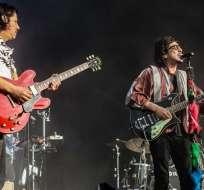 La banda premio al mejor álbum en géneros de rock latino, urbano o alternativo. Foto: Twitter Zoe.
