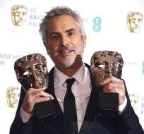 """""""Roma"""" de Alfonso Cuarón obtuvo cuatro Premios BAFTA. Foto: AP"""