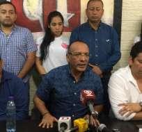 Representante de trabajadores públicos rechazan despidos. Foto: API