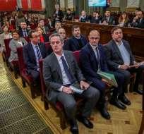 Arranca en España el histórico juicio a líderes separatistas catalanes. Foto: AFP