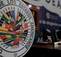 WASHINGTON, EE.UU.- Sólo 16 países miembro de la OEA apoyaron el 24 de enero pasado una declaración a favor. Foto: AFP/Archivo.