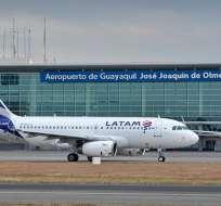 Reanudan operaciones en aeropuerto de Guayaquil. Foto: Archivo