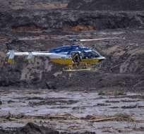 Hace 3 semanas, la ruptura de un dique minero provocó la muerte de 166 personas. Foto: AFP