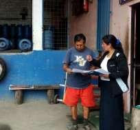 En Ecuador, el porcentaje cayó a 3,7, su nivel más bajo en los últimos cuatro años. Foto: Min. Trabajo Ec
