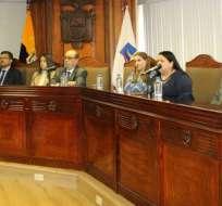 Presidente actual de C. Constitucional pidió que se efectúe exámen tras hallar novedades. Foto: CC.
