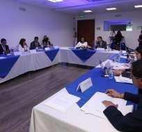 QUITO, Ecuador.- Ambas autoridades suscribieron un 'Protocolo de confidencialidad en cooperación judicial. Foto: Twitter