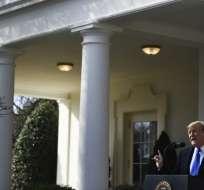 EE.UU.- El procedimiento teóricamente le permite saltarse al Congreso para desbloquear fondos. Foto: AFP