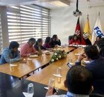 QUITO, Ecuador.- La fiscal Ruth Palacios informó que el traslado está previsto para el 28 de febrero. Foto: Twitter