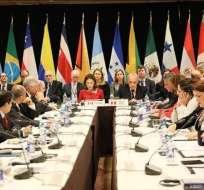 Grupo de Lima se reunirá el 25 de febrero por Venezuela. Foto: @enpaiszeta)