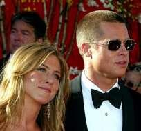 Revelaron la razón que volvió a unir a Jennifer Aniston y Brad Pitt. Foto: AFP