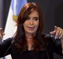 ARGENTINA.- Cristina Fernández está acusada de favorecer a un empresario con 52 obras públicas en su país. Foto: Archivo