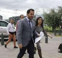 QUITO, Ecuador.- Iván Granda, secretario Anticorrupción, insta a que la Justicia actúe de forma responsable. Foto: Archivo
