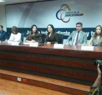 QUITO, Ecuador.- María del Carmen Maldonado anunciará en unos días novedades sobre jueces nacionales. Foto: API