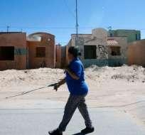 Ciudad Juárez, Chihuahua, es uno de los sitios donde la violencia provoca el abandono de casas.