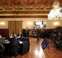 Lenín Moreno ratificará compromiso de garantizar la libertad de expresión en el país. Foto: Flickr Presidencia.